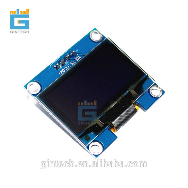 high quality 1.3 inch OLED display module high resolution 132X64,  white, blue character ship randomly