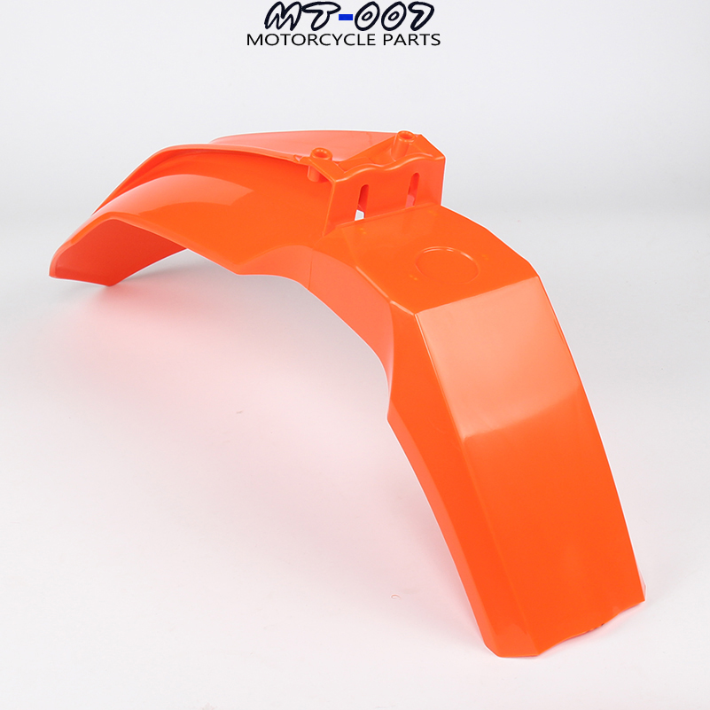 NEW Plastic Front Fender mudguard For KTM 2013-15 SX SXF EXC EXCF XCW SIX DAYS 2014-16 Dirt Bike Motocross Enduro Free Shipping orange white front fender mudguard for ktm exc excf xc xcf xcw xcfw mx egs sx sxf sxs smr motocross enduro supermoto dirt bike