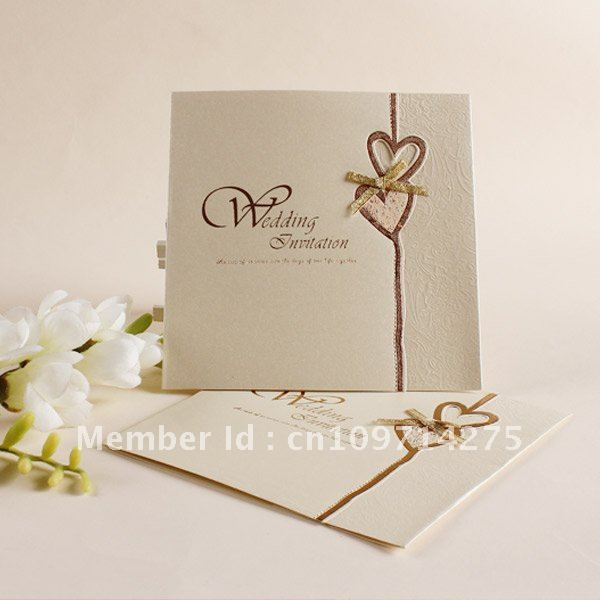 Wedding Invitations High End: Wedding Invitations/ European Invitations/ Folding