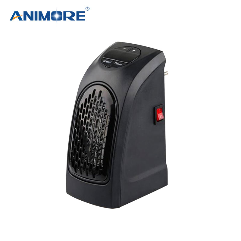 ANIMORE 400W Cartoon Shape Mini Fan Heater Desktop Household Electric Heater Fast Heater Warm Machine for Winter EH-01 cute mini fan heater desktop household electric heater fast handy heater warm machine for winter small desktop heater