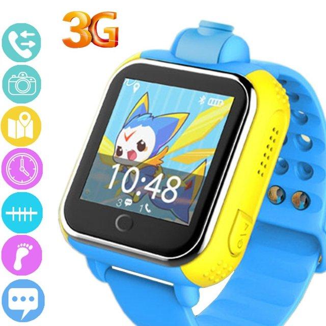 """Smart watch 3g hotsale do bebê com câmera de 1.54 """"Tela de toque Anti-Lost Sistema de Tracking Real-time Monitor SOS Apoio Sim gprs Wifi"""