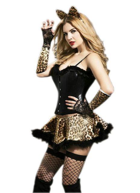sexy Kitty Halloween Kostüm