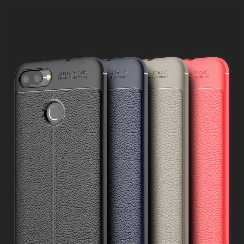 Luxury Imitation leather silicone Soft case For ASUS ZenFone Max Plus M1 5.7
