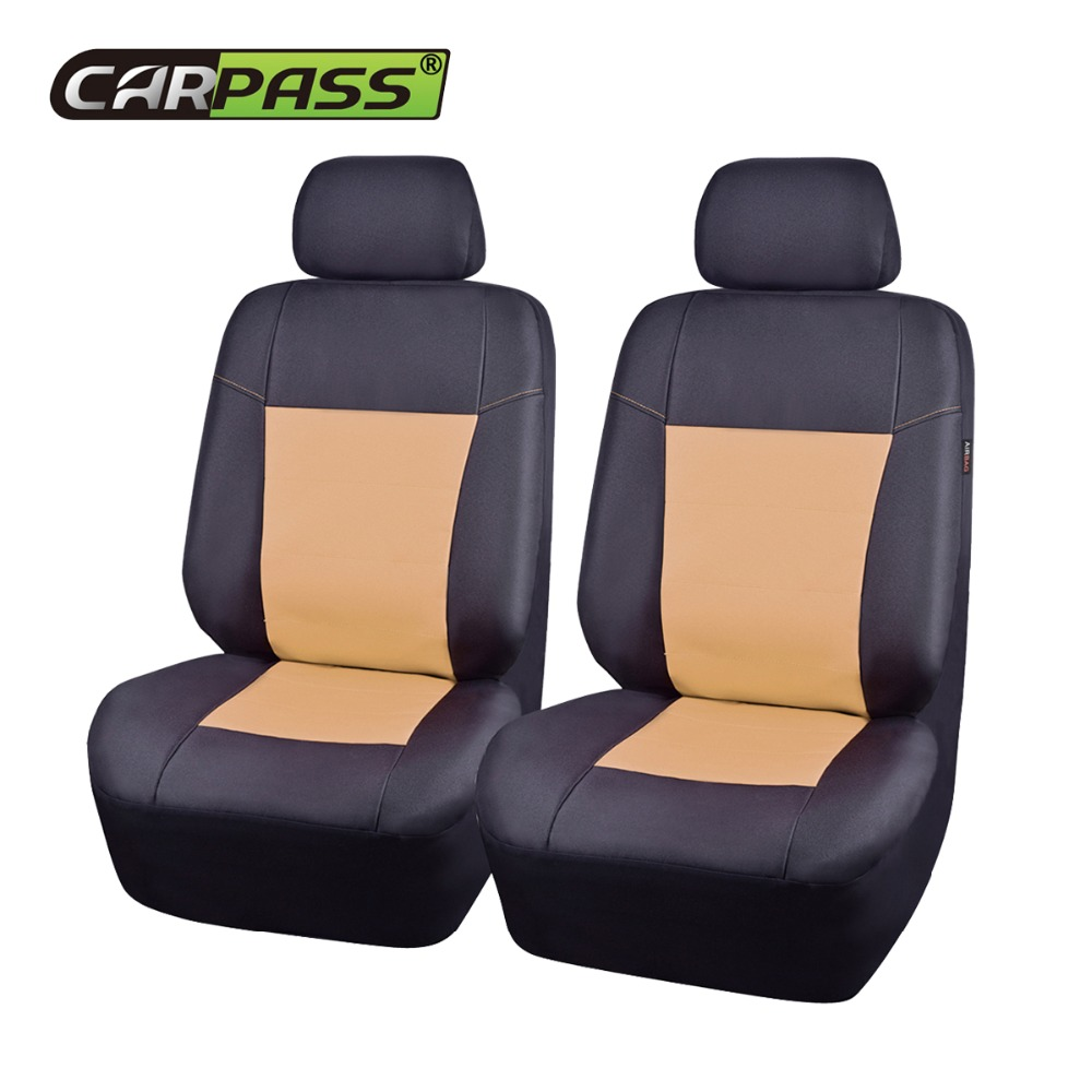 Super Us 24 94 51 Off Car Pass New Waterproof Seat Covers Supports Leather Car Seat Cover Universal Fit Most Auto Interior Decoration Accessories In Machost Co Dining Chair Design Ideas Machostcouk