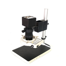 VGA output Video digital Microscope Camera +130X C-Mount Lens For soldering PCB SMD SMT Repair Inspection Tool цена в Москве и Питере