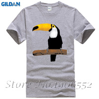 Toucan Bird Boy T Shirts Men Summer O Neck Cheap Tees Adult New Arrival Oversize Tops