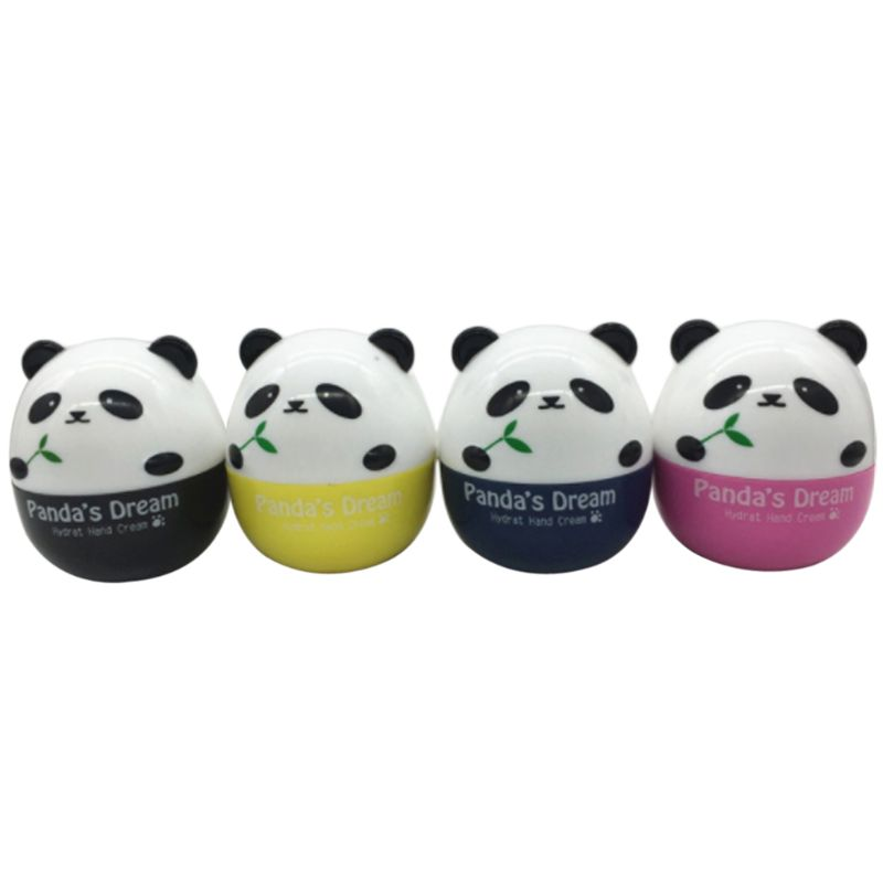 Panda Shape Hand Cream For Lift Hardening Moisturizing Nourishing Exfoliating Hand Care Tool
