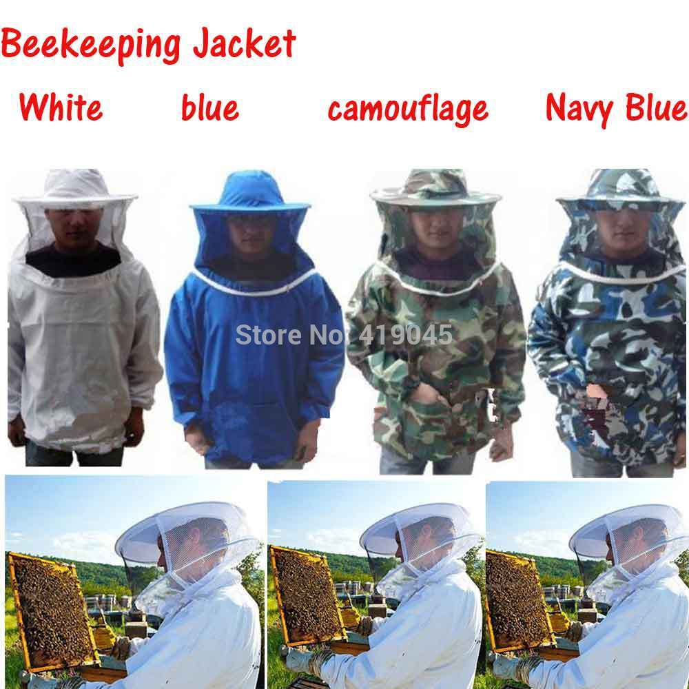 Hight Quality Beekeeping Protecting Suit Camouflage Bee Protective Equipment Fits Most Adult Beekeeping Jacket