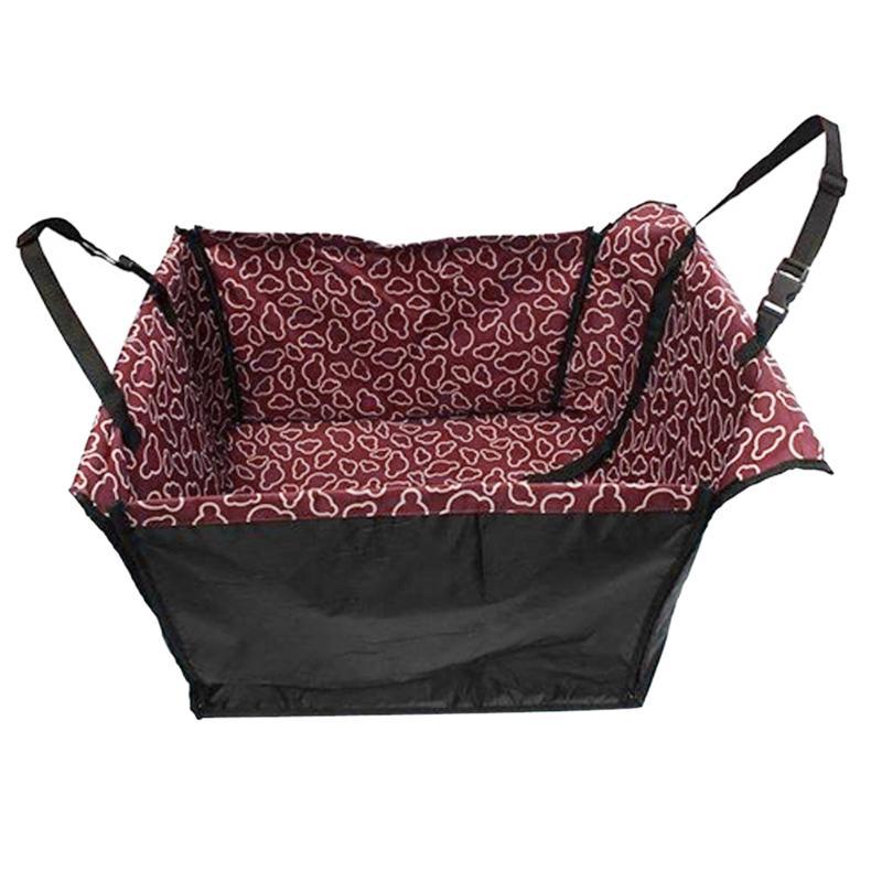 Waterproof Single Dog Seat Cover Pet Rear Carrier Mat Blanket Dog Car Seat Back Protector Safe Dog Accessories Hammock 16