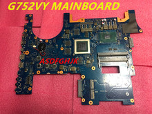 цена на Main board For Asus G752VY G752VT Laptop Motherboard i7-6700HQ CPU GTX980M 4GB 100% TESED OK