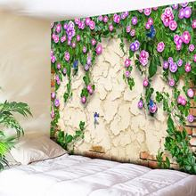 Fresh Flowers 3D Print Mandala Tapestry Wall Hanging Anime Butterfly Life Tree  Decorative Bohemian Tapestries Boho Wall Carpets butterfly water print waterproof wall tapestry