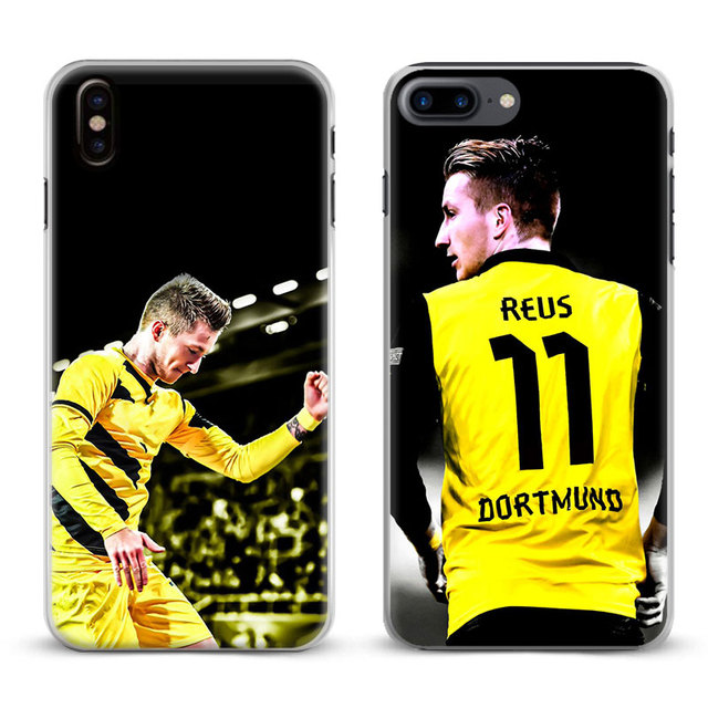 Marco Reus Coque Fashion Cool Phone Case For Apple iPhone X 8Plus 8 ...