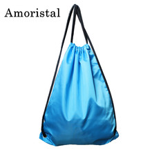 Unisex Drawstring Bags Best Selling Fashion Outdoor Women Sport Casual Storage Bags Travel Beach Shoulder Bags Preppy Style B221
