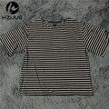 2016 Новый harajuku хип-хоп майка мужчин полосатые футболки негабаритных уличная мужчины скейт футболки swag одежда camisetas