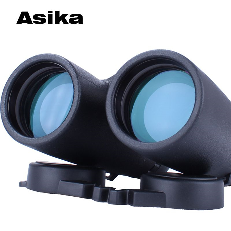 Asika binoculars w3 10x42 Waterproof High power Binocular professional Zoom telescope top quality lll night vision for hunting asika military hd 10x42 binoculars professional hunting telescope zoom high quality vision eyepiece powerful compact waterproof