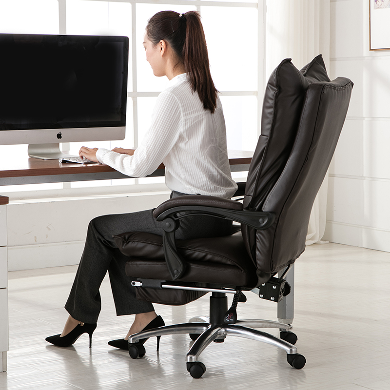 Computer Chair Home Boss Chair Executive Lunch Break Office Chair Reclining  Swivel Chair In Office Chairs From Furniture On Aliexpress.com | Alibaba  Group