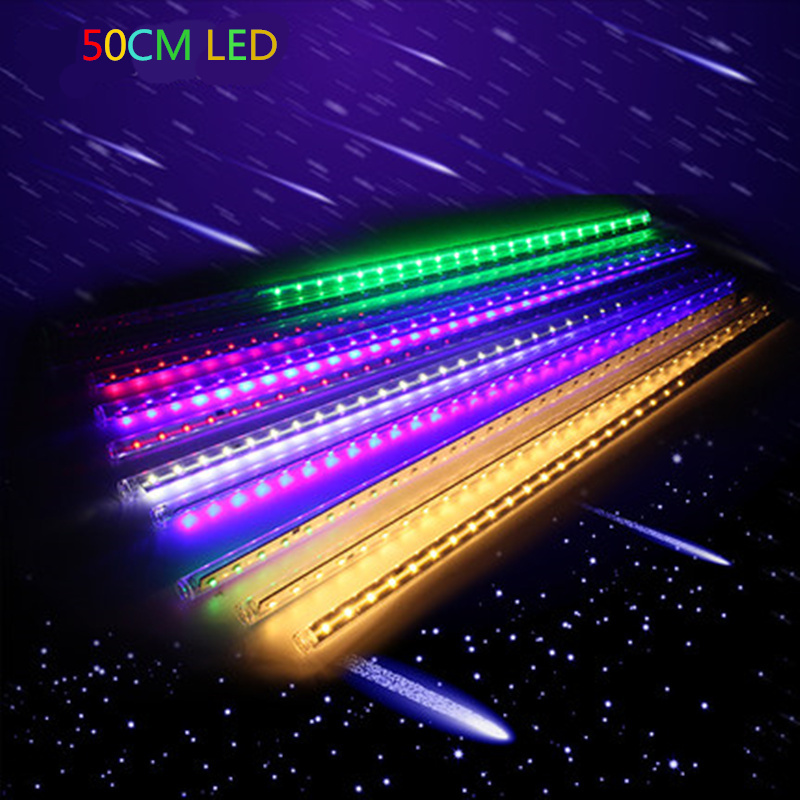 Holiday light Meteor Shower Rain Tubes LED Light 3528 50CM LEDlight ...