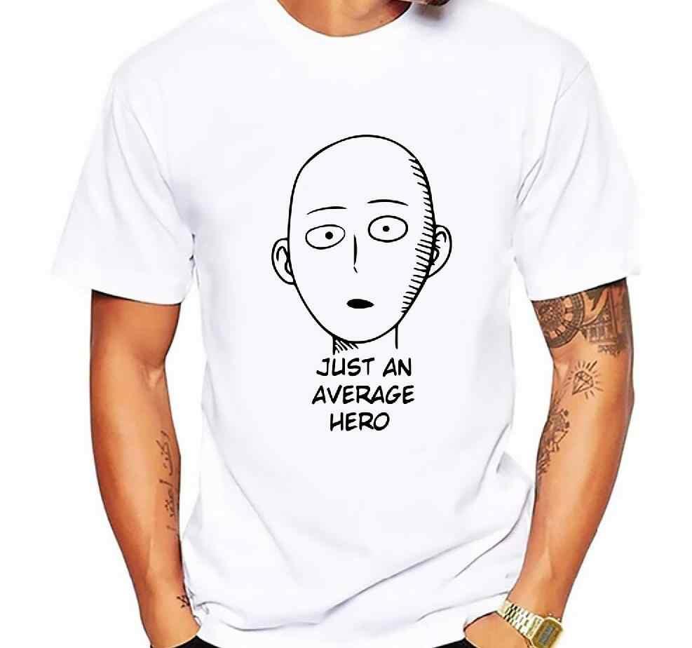 Men Skull tee cotton ANIME One Punch Man Printed men T shirt Fashion cool confortable men's Tshirt casual t-shirt for men