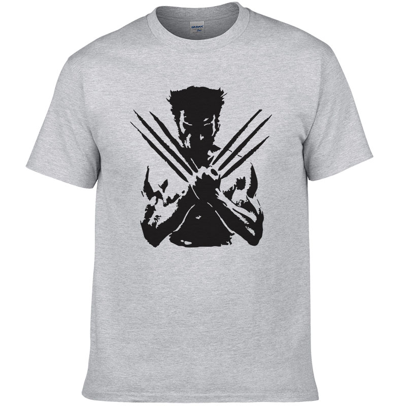 X Men Wolveriner T Shirt Men Women Summer Cotton Printed