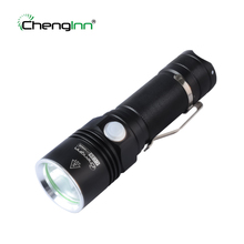 Купить с кэшбэком USB Rechargeable LED Flashlight Waterproof 4 Mode 1200LM Cree XPE LED Light Hand Torch Lamp 1* 26650 Battery for Camping Hiking