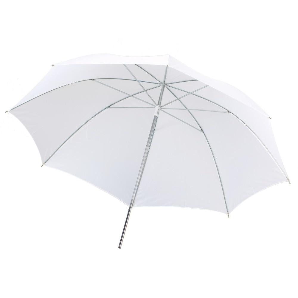 Lightweight 33 inch Po Studio Reflector Translucent White Diffuser Umbrella Flash Diffuser Wholesale gizcam durable camera 33 83cm inch translucent photo studio flash soft umbrella