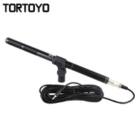 High Quality Wired Metal Professional Interview Microphone For SLR DSLR DV Camera Camcorder Shooting Mic Sound