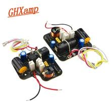 GHXAMP 2 сторонний кроссоверный твитер + басовый кроссовер 60 120 Вт Hifi 3 кГц двухсторонний делитель для детской фотолаборатории для домашнего использования 2 шт.