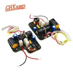 GHXAMP 2 drożny Crossover Tweeter + Bass Crossover 60 120W Hifi 3KHz dwukierunkowy dzielnik dla Denon SC M39 użytku domowego 2 sztuk w Akcesoria do głośników od Elektronika użytkowa na