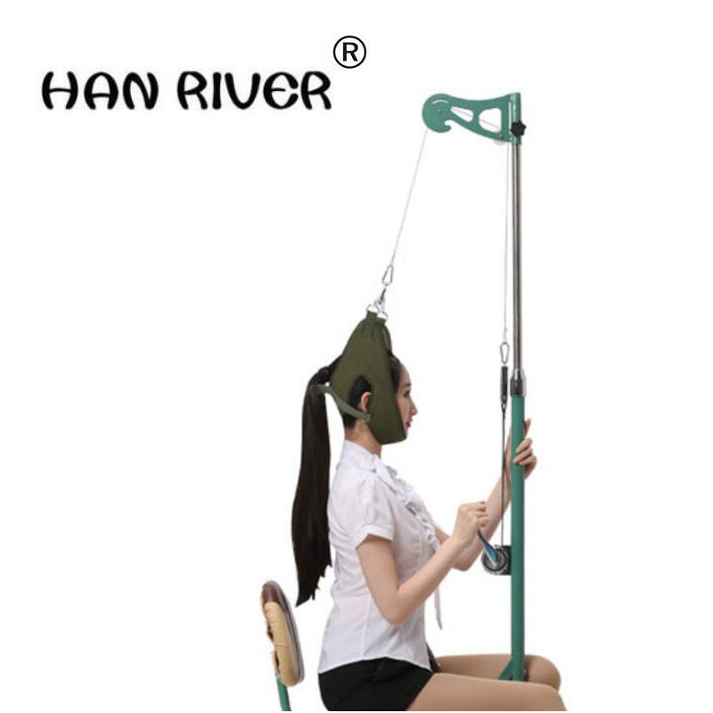 HANRIVER 2018 Traction chair more portable home tractor traction treatment of cervical spine instrument