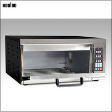 XEOLEO Automatic Digital oven Single Layer Electric oven  Food Baking oven with Computer Controlled for Pizza/Bread/Egg Tart 220
