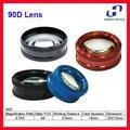 Lâmpada de fenda oftálmica 90D alta qualidade lente Asférica lente retina