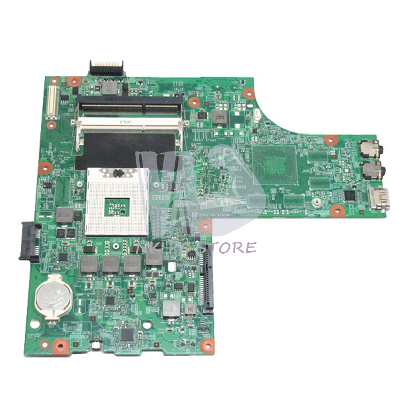 CN-0Y6Y56 0Y6Y56 For Dell Inspiron N5010 Laptop Motherboard HM57 DDR3 Socket pga989 48.4HH01.011 cn 0vx53t 0vx53t vx53t main board for dell inspiron n5010 laptop motherboard 48 4hh01 011 hm57 ati hd 5470 ddr3