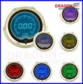 52mm LCD Digital 7 Color Display Tachometer RPM Gauge Fit For 4 6 8 cylinders /AUTO GAUGE