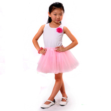 Юбка-пачка балетная модная девочек цветов для