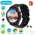Kw88 smart watch android 5.1 os quad core 400*400 smartwatch mtk6580 suporte 3g wifi nano cartão sim gps freqüência cardíaca relógio de pulso