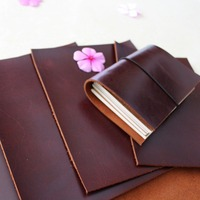 30*30cm Crazy Leather Head Layer Leather Leather Thickness Retro Cowhide Leather 1.8 2mm material