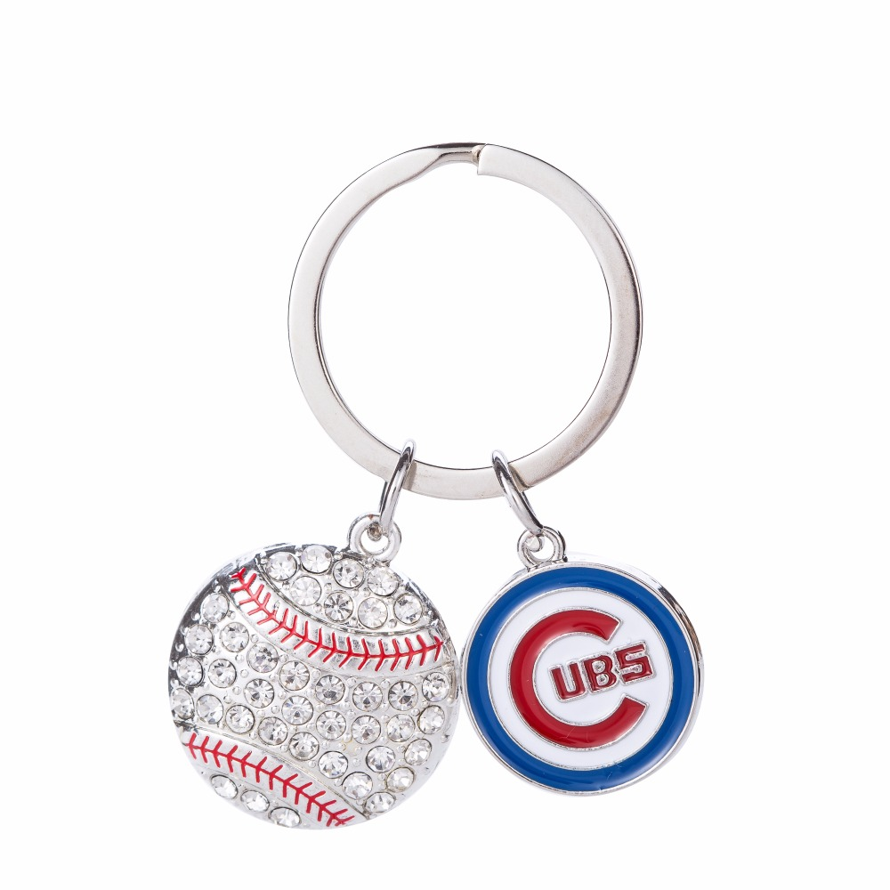 Chicago Cubs World Series Ring Keychain