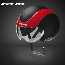 GUB TT helmet Bicycle bike Cycling Helmet Ultralight Integrally-molded MTB bike Road Bike Helmet goggles With Magnetic UV Visor