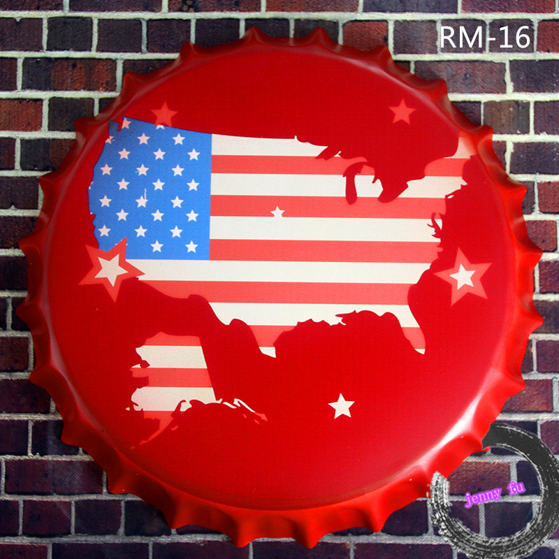 Compare Prices On Round Plate Decoration Online ShoppingBuy Low - China map in us flag