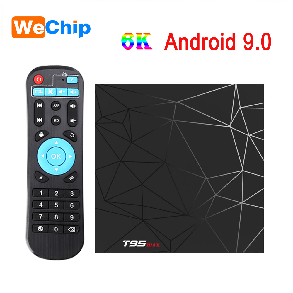 Tv-Box T95max-Set Google-Player Android 9.0 T95-Max Wifi Quad-Core 6K Allwinner H6 HDR