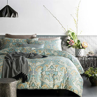 Pronovias 60S Egyptian Cotton Damask Luxury Bed Linen Classic Phoenix Pattern For Wedding