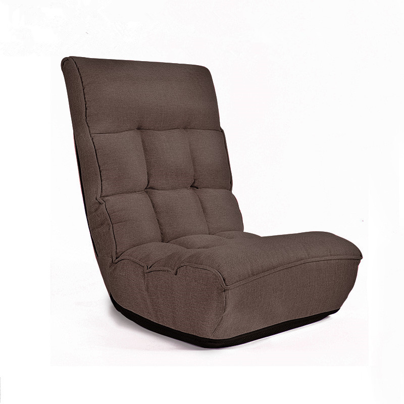Living Room Furniture Furniture 360 Degree Swivel Folded Video Game Chair Floor Lazy Man Sofa Chair With Leather And Mesh Fabric Upholstery Armchair Living Room