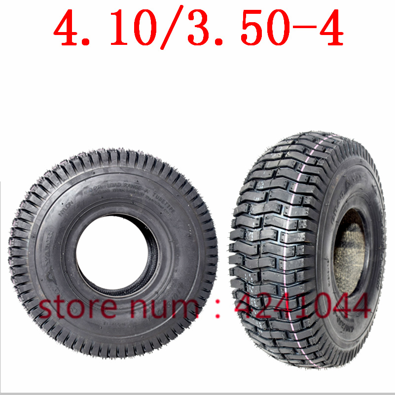 4.10/3.50-4 Tyres 4.10-4 410/350-4 Electric Bicycle,warehouse Car,trolley,Electric Scooter Tire Inner Tube Fit All Models 3.50-4