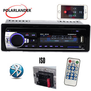 Radio-Player MP3 Audio Built-In-Bluetooth-Phone 1 Din New Car FM 12V with Usb/Sd Mmc-Port