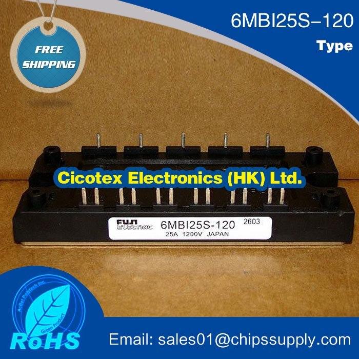6MBI25S-120 MODULE IGBT 1200 V 25A 25S-1206MBI25S-120 MODULE IGBT 1200 V 25A 25S-120