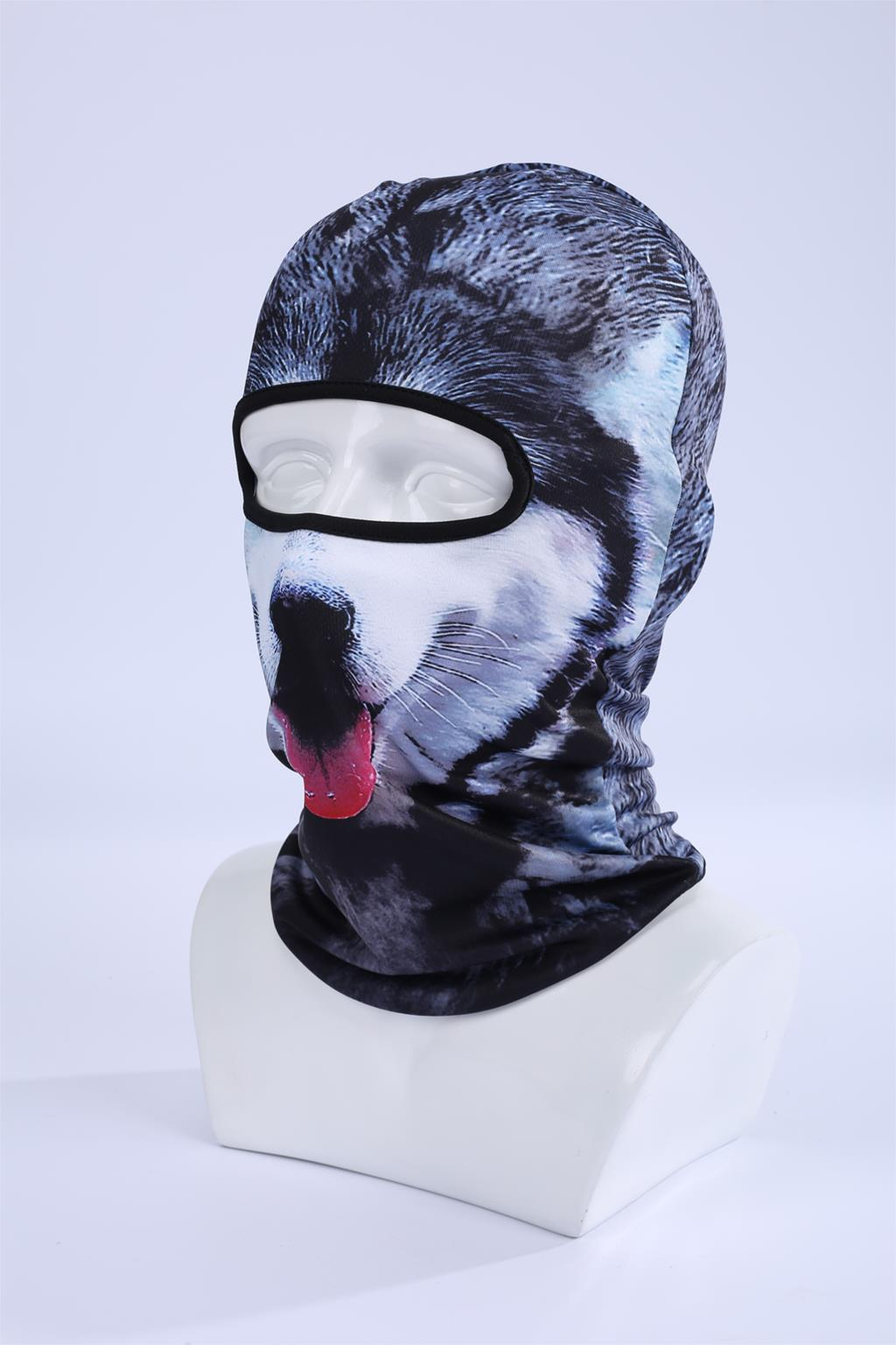 Hot Sale 2016 3D Cap Dog Animal Outdoor Sports Bicycle Cycling Motorcycle Masks Ski Hood Hat Veil Balaclava UV Full Face Mask 8
