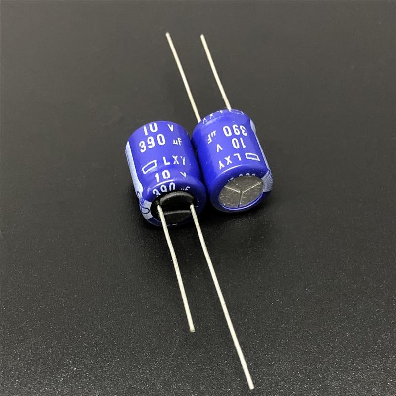 10//100pcs 390UF 50V Nichicon PM 12.5X25mm 50V390UF Super Low Impedance Capacitor
