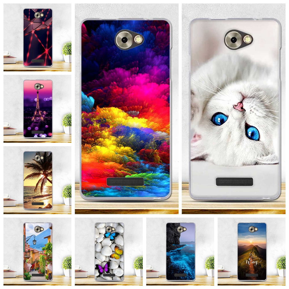 Paint Case For BQ Magic BQS-5070 5.0 inch Case Cover Soft Silicone Cover Case For BQS 5070 BQS5070 BQ S 5070 S5070 Phone Cover