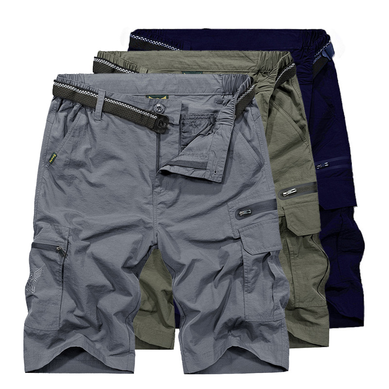 LoClimb 2019 Outdoor/Hiking Shorts Men Summer Quick Dry/Waterproof Tactical Shorts Men's Sports Shorts Trekking/Fishing AM369