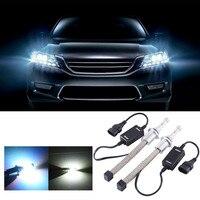2Pcs Set 30W 3600LM LED Aluminum Car Headlight 9006 Interface Car Headlight Bulb Waterproof White Light